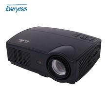 Everycom X9 LED HD Projector 3500 Lumens Beamer 1280*800 LCD Projector TV Full HD Video Home Theater Multimedia HDMI/VGA/ AV/ATV(China (Mainland))