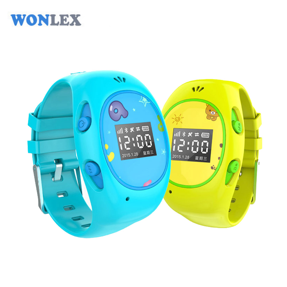 Wonlex 2016 New Arrial H1 GPS/GSM/Wifi Tracker Watch for Kids with SOS Function Android&IOS Anti Lost Kids GPS Watch(China (Mainland))