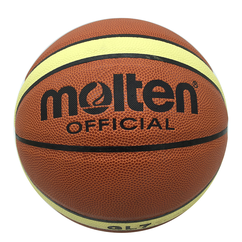 High Quality 2016 GL7 Indoor Outdoor Leather Basketball Official Size 7 Basketball Ball PU Match Training Equipment IB787-GL7(China (Mainland))