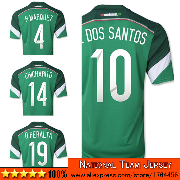 Mexico women jersey 2014 thai quality home green girl soccer jersey 14 15 women mexico football jerseys 2014 2015(China (Mainland))
