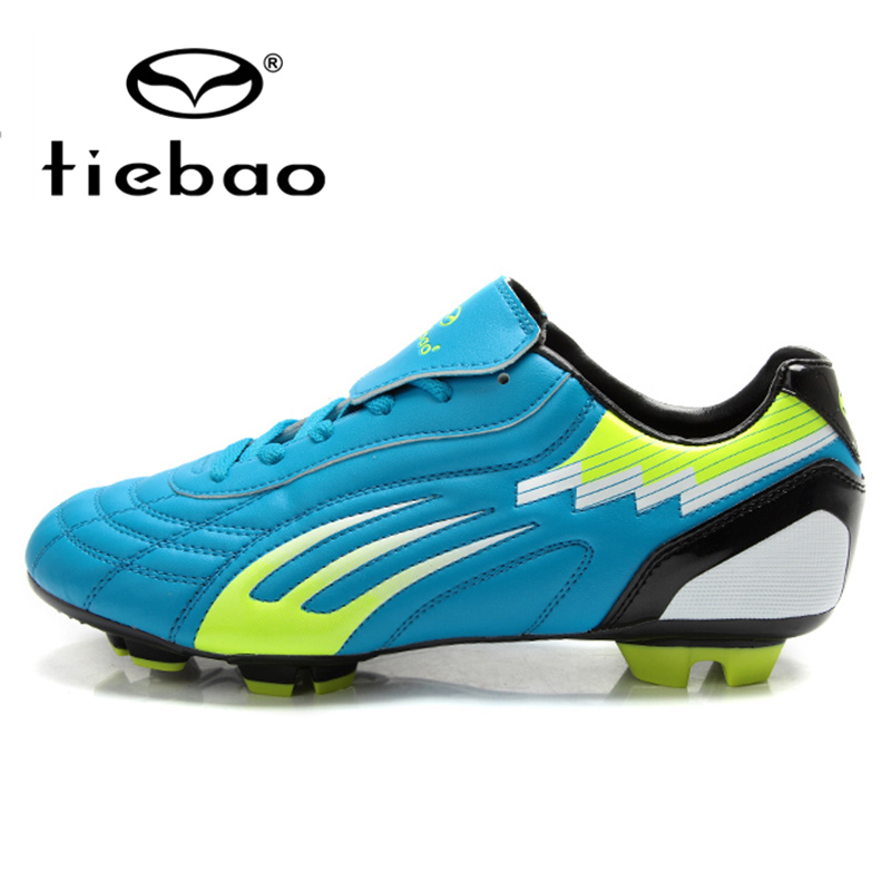TIEBAO Professional Outdoor Football Boots HG & AG Sole Athletic Training Soccer Shoes Men Women Soccer Cleats crampons de foot(China (Mainland))