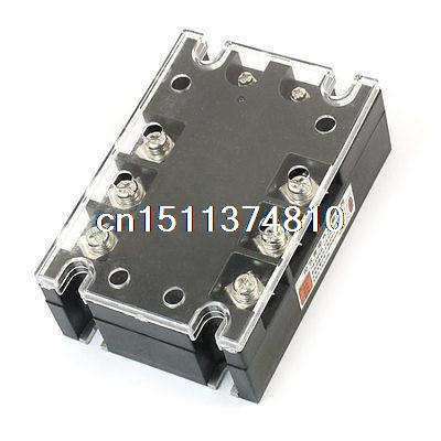 DC3-32V AC480V 40A 3P SSR-3P Solid State Relay w Indicator Light<br><br>Aliexpress