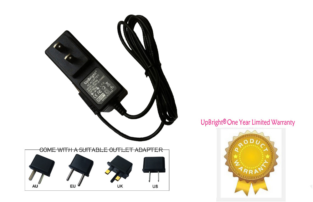 UpBright New Global AC / DC Adapter For Streamlight Waypoint Pistol Grip Spotlight 44900 44902 44905 C4 LED Power Supply Charger(China (Mainland))