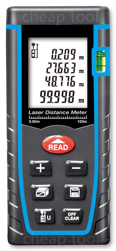 Laser Distance Meter 40M 60M 80M 100M ruler Laser Rangefinder Range Finder Digital Tape Measure Area/volume Angel M/Ft/in Tool(China (Mainland))