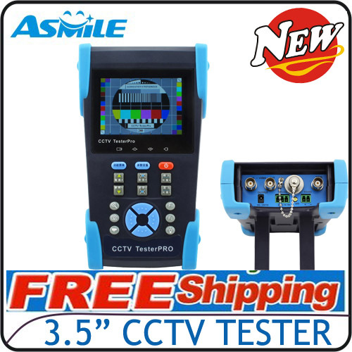 """The 6th Generation 3.5"""" 10xZoom cctv video tester VT2611 DHL EMS free shipping(China (Mainland))"""