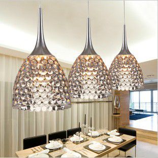 buy modern pendant lamp aluminum dining. Black Bedroom Furniture Sets. Home Design Ideas