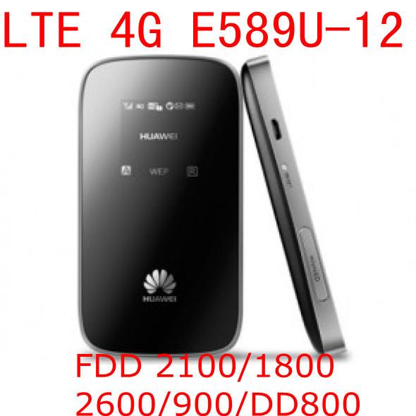 Unlocked Huawei E589 E589u 12 LTE 4g wifi router mobile hotspot 4g lte mifi dongle wireless