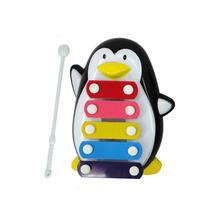 Mance-Z5 Baby Kid 5-Note Xylophone Musical Toys Wisdom Development Penguin(China (Mainland))