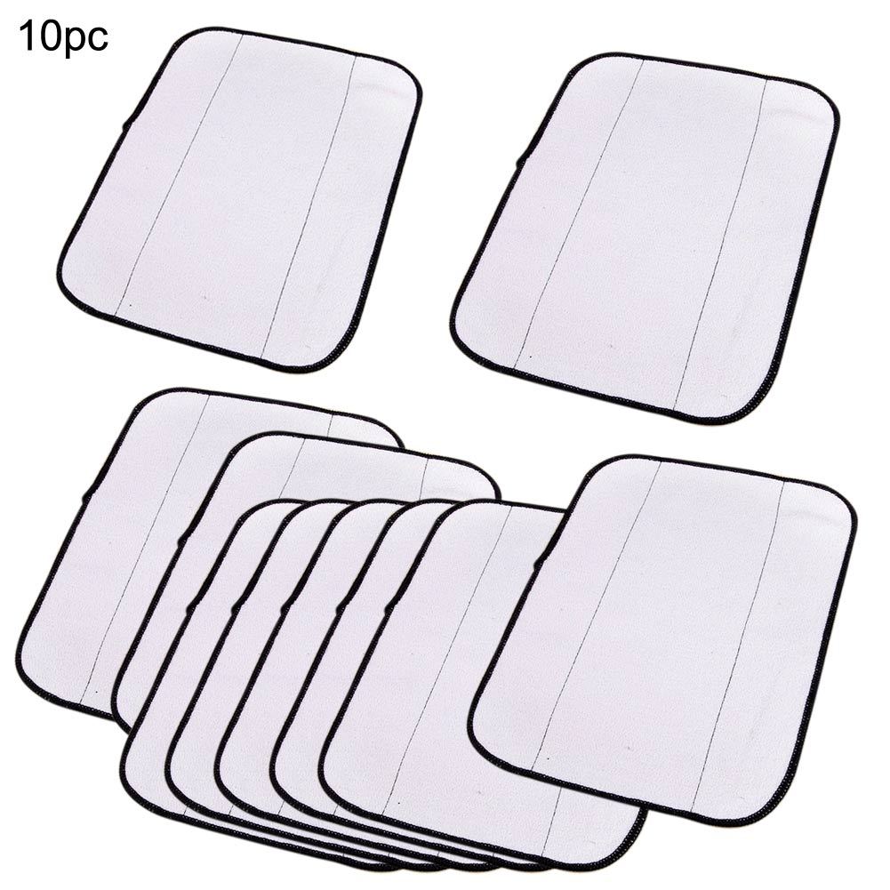 2016 New 10Pcs 29x22cm Washable Reusable Microfiber Mopping Cloth for Robot 308t 380 321 320 4200 5200C 5200(China (Mainland))