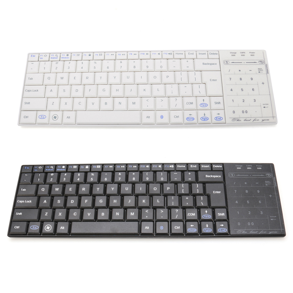 Гаджет  Mini Bluetooth keyboard + Multi-finger touchpad wireless keyboard and Mouse For Windows For Android For iOS Phone for iPad None Компьютер & сеть