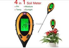 Buy New Arrival 4 1 Soil PH Meter, Soil Moisture Meter, Sunlight/Moisture/PH/temperature meter Backlight for $19.88 in AliExpress store