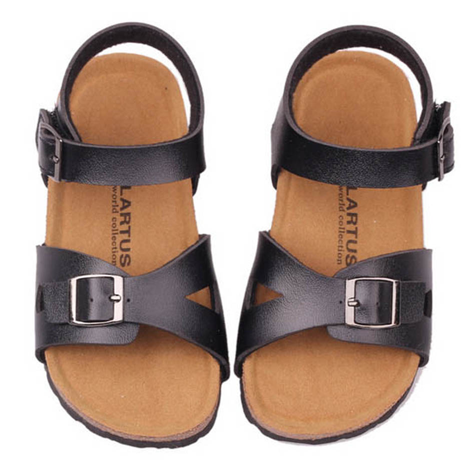 2016 Summer Children Boys Clogs Strap Buckle Kids Girls Cork Sole Sandals Children Beach Sandals Unisex Kids Summer Shoes<br><br>Aliexpress
