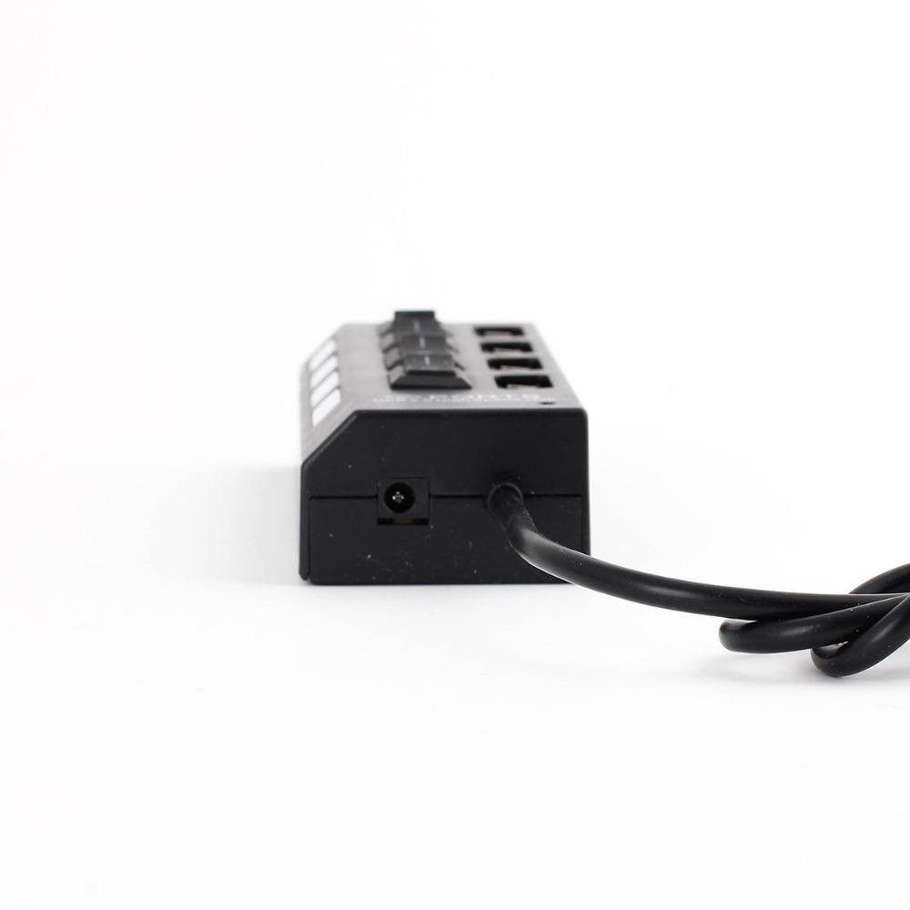 High Quality Four port usb hub USB 2 0 strip 4 ports USB HUB Splitter with