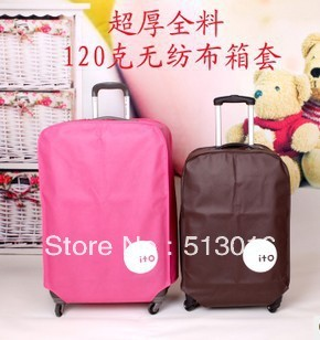 Thick full packaged travel bag trolley luggage thickening protective case box set dust cover