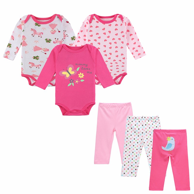 HTB1IWIYOVXXXXcbaXXXq6xXFXXXi - 6 PCS /Lot Mother Nest Baby Boy Clothes NewBorn Toddler Infant 0-12 Autumn/Spring Baby Rompers+ Baby Pants Baby Clothing Sets