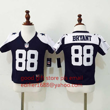 100% stitch baby Dallas Cowboys toddler 9 Tony Romo 22 Emmitt Smith 82 Jason Witten 88 Dez Bryante 50 Sean Lee Embroidery Logos(China (Mainland))