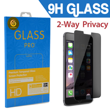 For Apple iPhone 6 4.7″[ Privacy Tempered Glass] Premium Anti-Spy Anti-Scratch Bubble-free Reduce Fingerprint Screen Protector