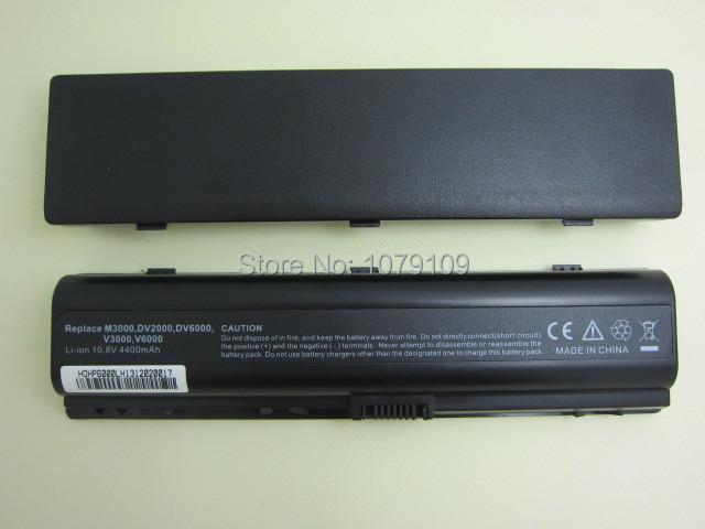 5200MAH DV2000 laptop Battery for HP Pavilion DV6000 G6000 G7000 COMPAQ Presario V3000 V6000 A900 C700 F500 F700 free ship(China (Mainland))