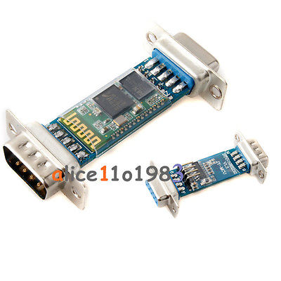 DB9 RS232 RF Wireless Bluetooth Module HC-06 Slave Serial Port(China (Mainland))