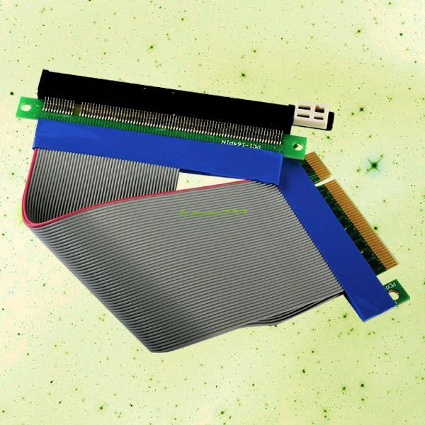 EL4998 PCI Express PCI-E 8X To 16X Slot Riser Card Flexible Extension Cable USA(China (Mainland))
