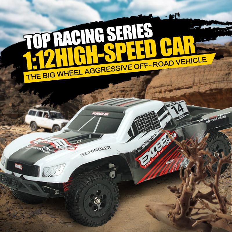 SUBOTECH BG1507 RC Car 1 : 12 Racing Car High Speed Assembled Radio Control Race Car 4WD 2.4G RC Car Toy RTR