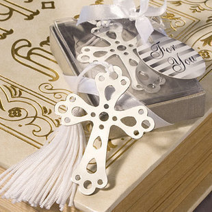 wedding special event favor gift and giveaways for guest--Book Lovers Collection Cross Bookmark Favors party keepsake 100pcs/lot(China (Mainland))