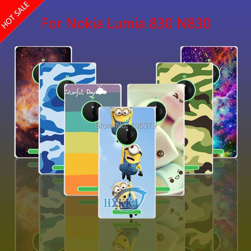 For Nokia Lumia 830 N830 Case Girl Leopard Zebra Skull Cat Fish Lotus Flower Rainbow Despicable Me Hard Back Cell Phone Case(China (Mainland))