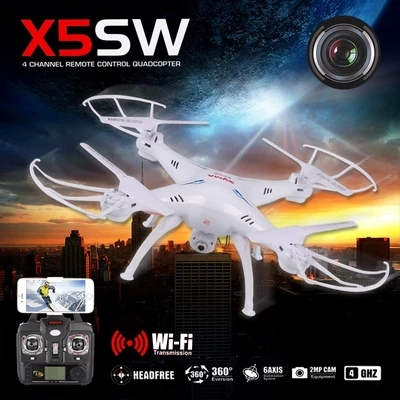 2015 Hot!Syma X5SW WIFI RC Helicopter (Upgrade version syma x5c-1) 6 Axis GYRO Drone Quadcopter with 2MP HD Camera(China (Mainland))