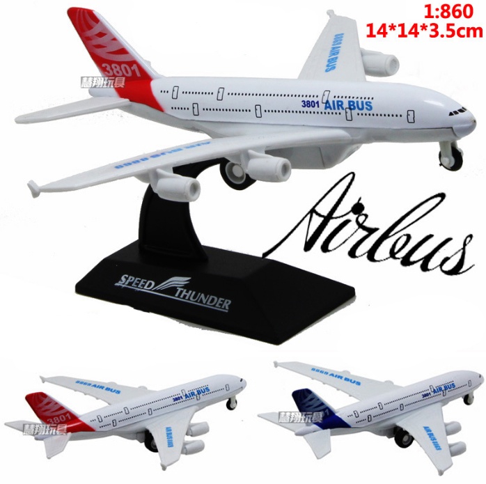 Hot Sale 14cm Metal airlines plane model Aeroflot Airbus A380 aircraft model airplane model For Baby Gifts Toys FreeShipping(China (Mainland))