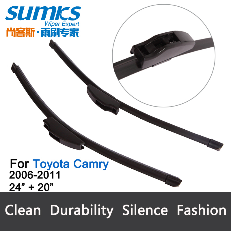free shipping framless wiper blade for toyota camry 2006. Black Bedroom Furniture Sets. Home Design Ideas