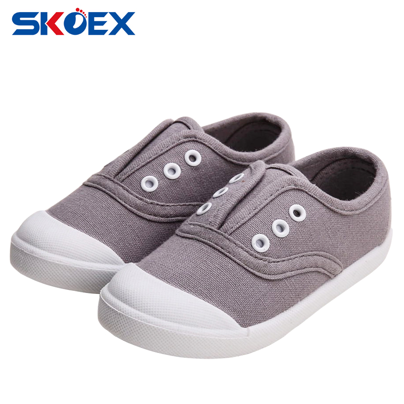 new children canvas shoes boys plimsolls fashion