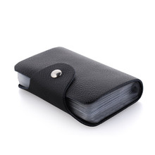 26 position card wallet 100% brand Genuine leather business card holder Fashion credit card holder New style card case JM-01001(China (Mainland))