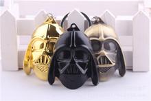 2015 new Star Wars keychain Black Knight key chain Darth Vader Pendant  Key Ring free shipping