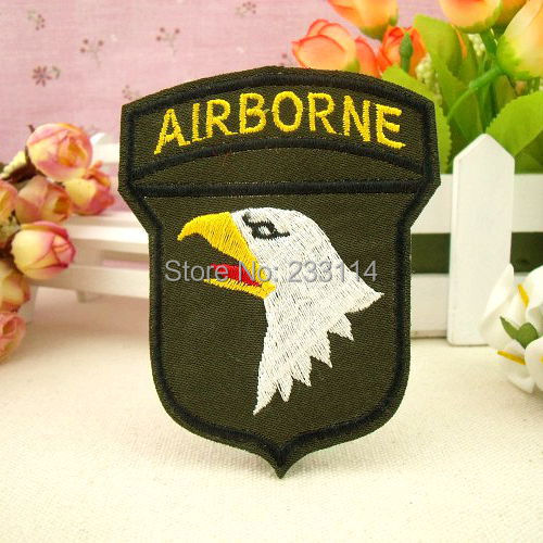 DIY cloth patch fashion clothes stuck badge armband Eagle Head personality Badge scrapbooking iron-on patch applique button(China (Mainland))