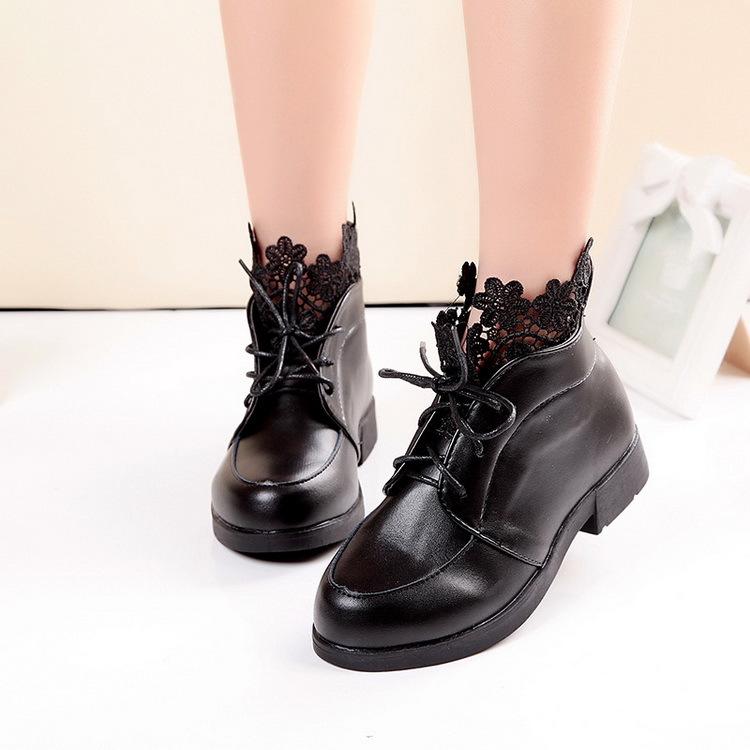 Ботинки для девочек 2015 2 , 6/16 , HJ046