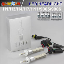 Buy Car light 80W 9600LM Led Car Auto Headlight H7 H1 H3 H11 9005 9006 White Bulb Automotive Headlight Fog lamp DRL Play & Plug for $37.80 in AliExpress store