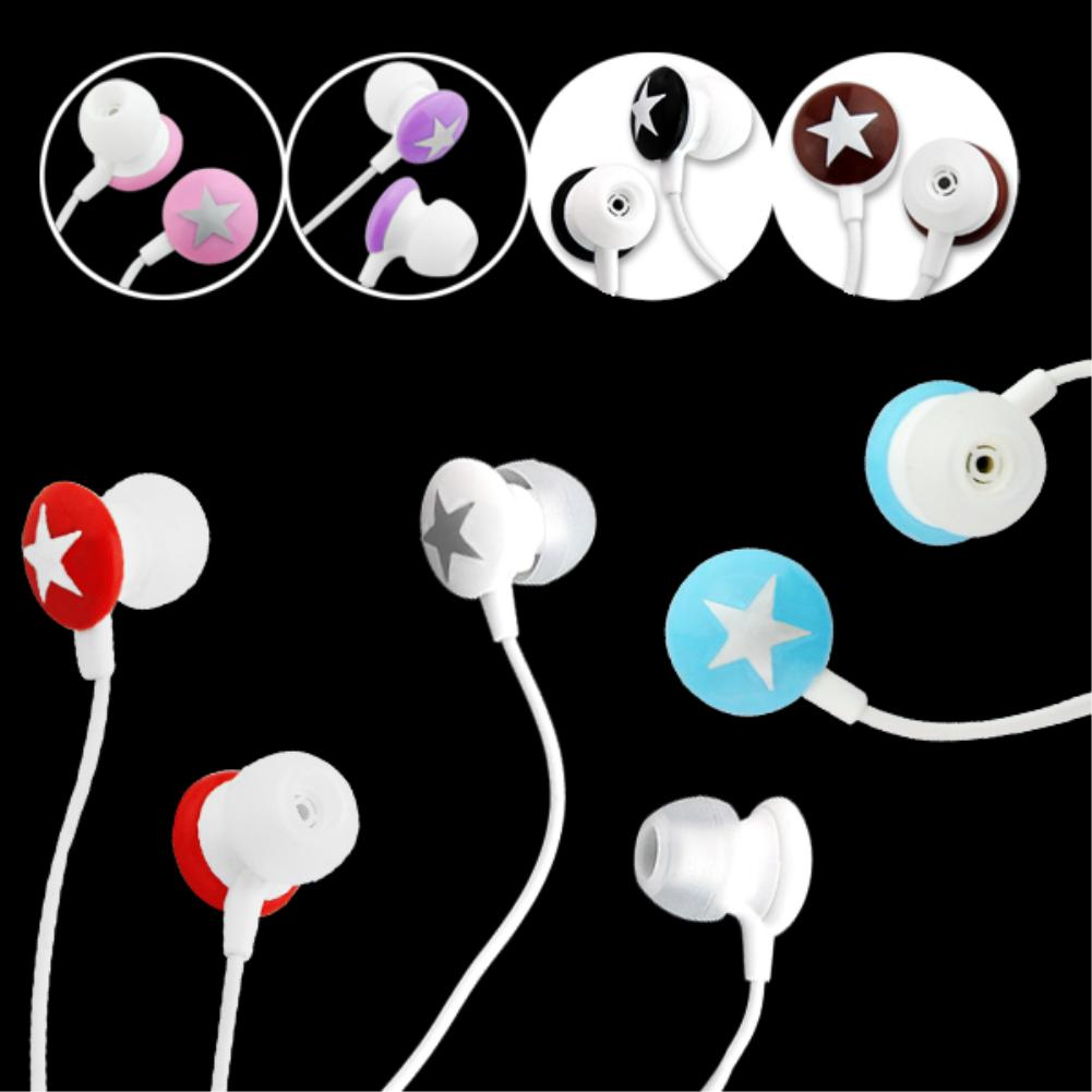 Cheap+Hot Selling+ Universal 3.5mm In-ear Star Stereo Earphone For iPhone 3G 3GS 4 4G 4S for HTC G8 G7 for Blackberry for LG(China (Mainland))