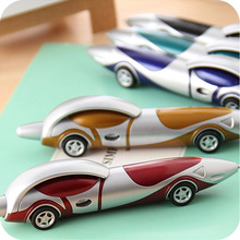South Korea stationery cute cartoon car ball point pen Student teacher a good writing ball point pen For writing pens