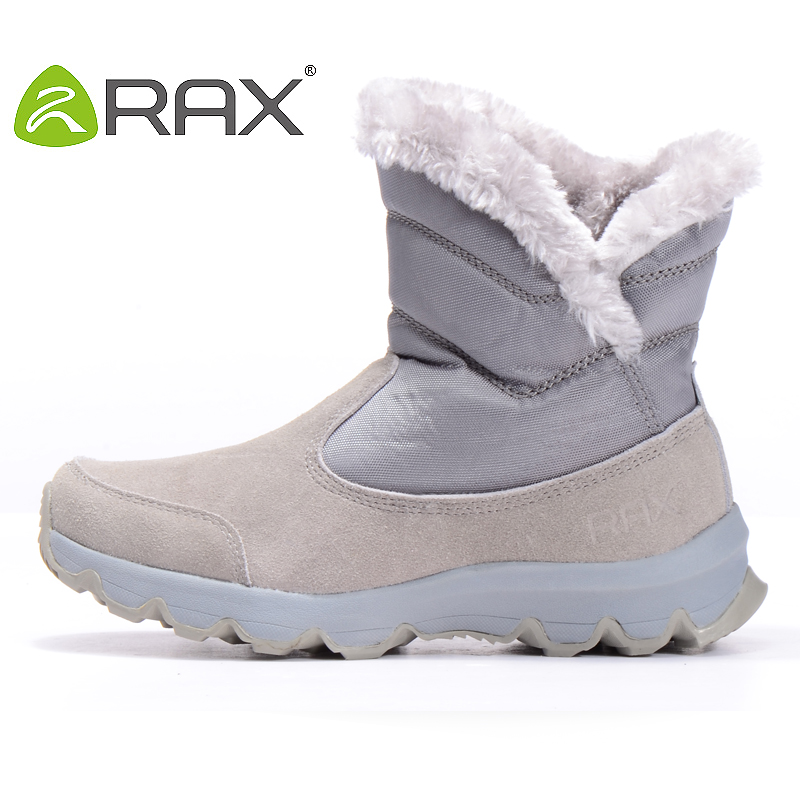 Rax autumn and winter thermal knee-high snow boots skiing boots slip-resistant women's shoes outdoor shoes 34-5j183(China (Mainland))