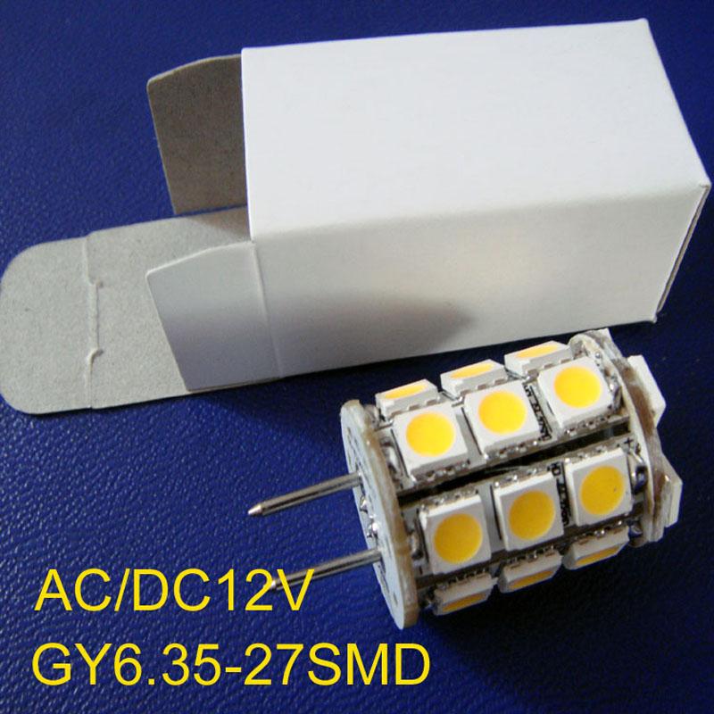 High quality AC DC12V font b GY6 b font 35 LED bulb led G6 35 12v