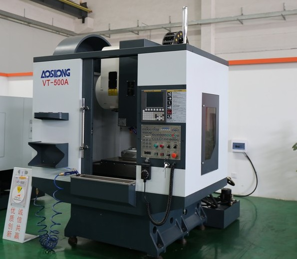 machine tool cnc milling machine VT500 650x400X350 High quality full new 16 tools ATC drilling tapping center machine(China (Mainland))