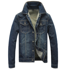 the new model of the new style of the cowboy jacket mens jackets long sleeved men jacket with a long sleeved jacket(China (Mainland))