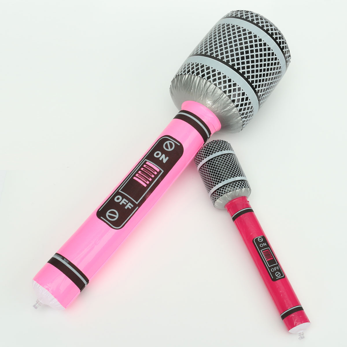 Hot Party Gift Toys 2 Size Fancy Karaoke Inflatable Microphone Children Kids Favor Toy Sing Song Activity Birthday Prop(China (Mainland))