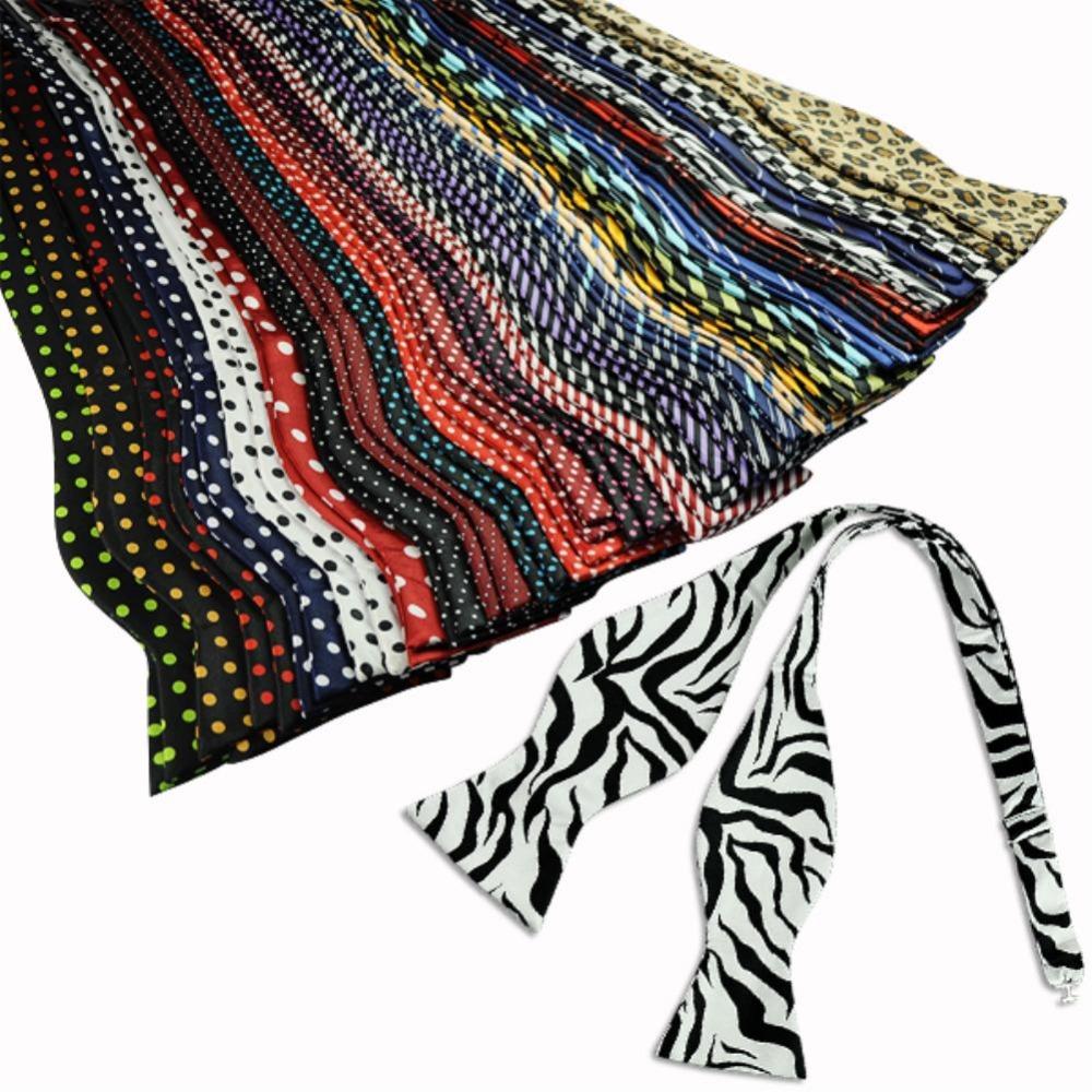 New Fashion Adjustable Polyester Men's Multicolor Bow Tie Retail Solid Color Plain Silk Self Bow Tie Necktie Ties EQ5551(China (Mainland))