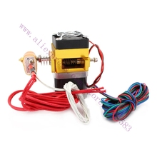 12 24V Fan 3D Printer MK9 Extruder Heater 100K NTC thermistor PTFE tube 0 2 0