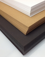 10 Sheet A4 Blank BROWN KRAFT 250gsm Recycled Thick Cardboard Black Cardstock Paper 29.7cm X 21cm DIY(China (Mainland))