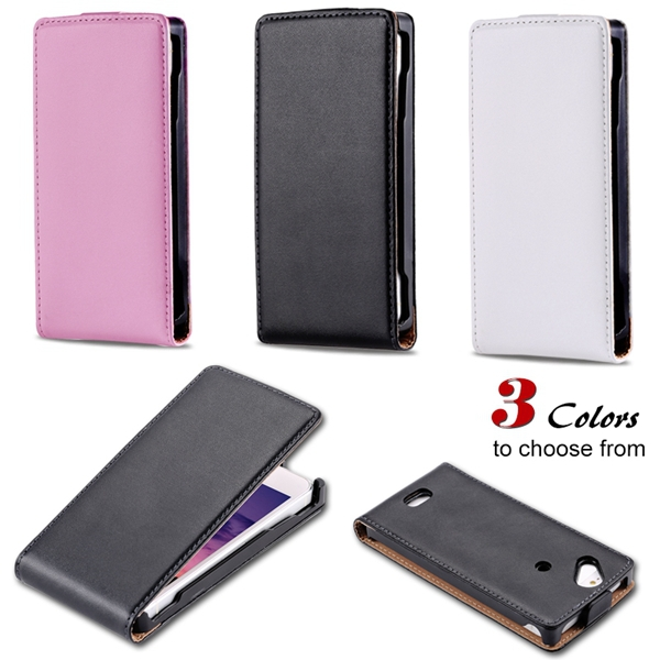 Genuine Leather Flip Cover For Sony Ericsson X12 Xperia Arc LT15i Full Case For Sony Xperia Arc S LT18i Vertical Phone Case(China (Mainland))