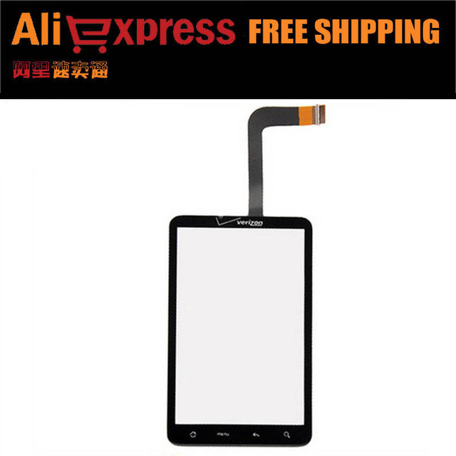 Replacement Touch Screen Glass Digitizer for HTC ThunderBolt verizon black free shipping