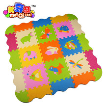 Kid Game Carpet small animals High Quality 9pieces EVA Foam Puzzle Baby Play Mat Eva play mat Protection Mat