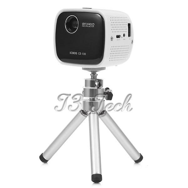 Icodis portable mini wifi hd led digital project smart for Mini smart projector